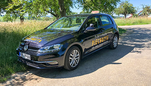 Golf Lehrfahrzeug Fahschule Piechotta Horb